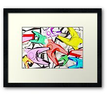 Snap Collective Framed Print
