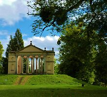 The Folly,Highclere Castle, Hampshire, England,  by artfulvistas
