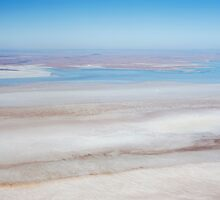 Blue Lagoon - Lake Eyre by Jenny Dean