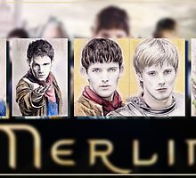 5 Merlin miniatures by wu-wei