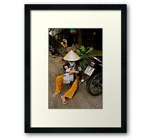 Streets of Ho Chi Minh Framed Print