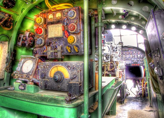 Lancaster Interior - HDR by Colin J Williams Photography