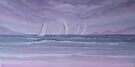 Sailing at twilight by Holly Martinson