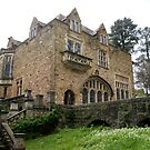 Montsalvat Great Hall view from below by BronReid