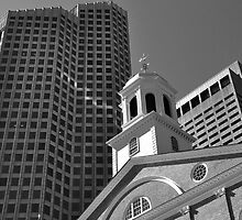 City of Boston Series,,,,,The Old and The New  by John  Kapusta