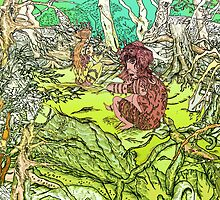 Forest of the Dwellers Colour by Grant Wilson