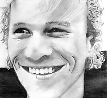 tribute to Heath Ledger 2 by Kim Feenstra (not the model)