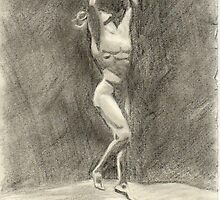 preliminary study for the dance by Kim Feenstra (not the model)