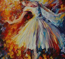 SURROUNDED BY MUSIC - LEONID AFREMOV by Leonid  Afremov