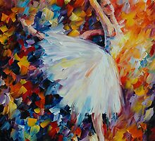 BALLET MAGIC - LEONID AFREMOV by Leonid  Afremov