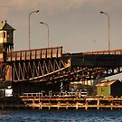 Old Glebe Island Bridge, Sydney by Roger Barnes