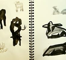 cow shapes by donnamalone