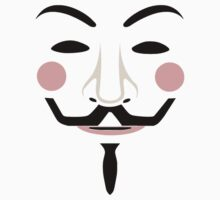 Guy Fawkes Mask Face [alt] by sergalbutt