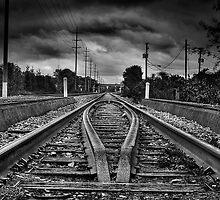 Railway Vanishing Point by Mariano57