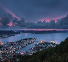 Bergen Harbour by Conor MacNeill