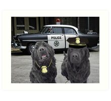 """☞ º°""""˜`""""°☜♥☞CANINE POLICE DOGS- BAD BOYS THEME TAKEN FROM THEME SONG ☞ º°""""˜`""""°☜♥☞ Art Print"""