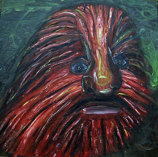 Lion Faced Man  by Followthedon