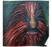 Lion Faced Man  Poster