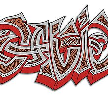 Celtic Graffiti? by Vítor  González