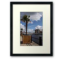 Palm Tree on the Tyne Framed Print