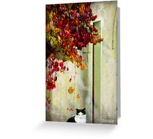 Autumn dreaming Greeting Card