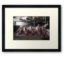 Abattoir Framed Print