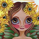 &quot;Sunflower Fairy&quot; by Jaz Higgins