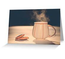 Outdoor tea Greeting Card