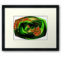 Through the Eye of a Butterfly Framed Print