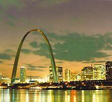 St. Louis, Missouri - (1982)  by Dwaynep2010
