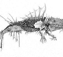 Musseled back Larvae stage 1 by Patina Vaz Dias