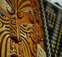Carvings from the Marae by Cat Edwards