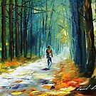 SUMMER FOREST - LEONID AFREMOV by Leonid  Afremov