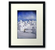 Olympic Gold Medalist Nancy Greene and Sun Peaks Canada Framed Print