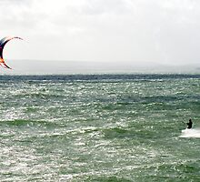 Kite Surfing by Chris Day