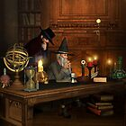 Visit to the Mage by Fiery-Fire