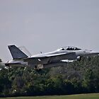 FA-18 Hornet Takeoff by Anthony Roma