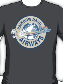Rainbow Dash Airways T-Shirt
