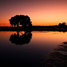 Close of Day - Victoria Point Qld Australia by Beth  Wode