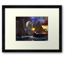 They Are Waiting! Framed Print