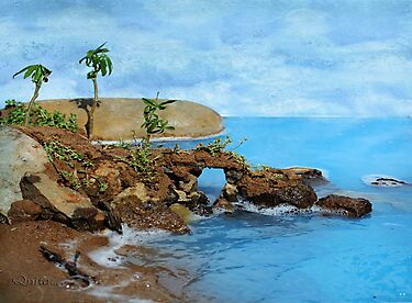 Model Key Hole Arch En plein air by Qnita