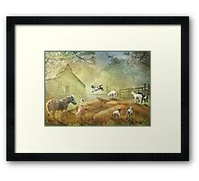 Little Troublemakers ! Framed Print