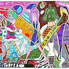 'Fashion Express' ~ Original Pieces Art™ by Kayla Napua Kong