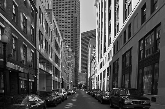 City of Boston Series......On Milk Street  by John  Kapusta