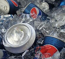 Pepsi in Ice(: by Anna Chudko