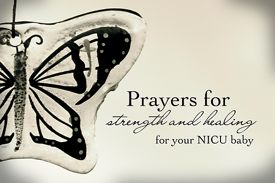 Prayers for a NICU Baby by Franchesca Cox