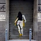 Graffiti Poster Girl by Hollyis