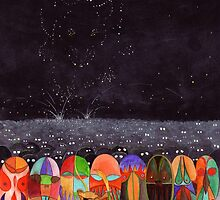 Mouse Army and the Star Constellation of the Rat by Ray Shuell