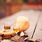 Wine in autumn by Krisztian Sipos