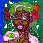 'Beauty Stems from Rose Thorns' ~ Original Pieces Art™ by Kayla Napua Kong